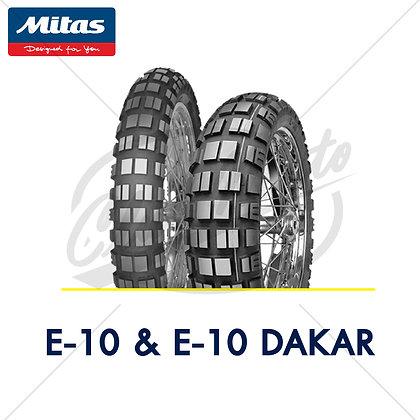 110/80B19 + 170/60B17 E-10 & E-10 Daker MITAS