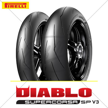 120/70ZR17 + 200/55ZR17 DIABLO™ SUPERCORSA SP V3 PIRELLI