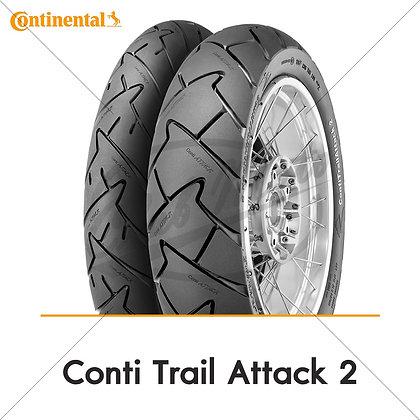 120/70ZR17 + 160/60ZR17 TRAIL ATTACK 2 CONTINENTAL