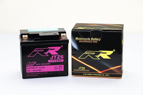 แบตเตอรี่ JTZ6 BATTERY RR