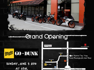 KTM RAMA 5 SERVICE CENTER GRAND OPENING. SUNDAY 5 JUNE 2016 @ GO-DUNK MOTOGROUP