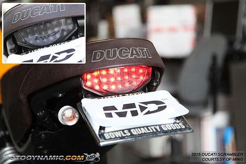 ไฟท้ายมีไฟเลี้ยวในตัว Ducati Scrambler MOTODYNAMIC