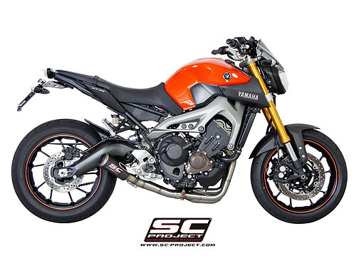 SC-Project FULL SYSTEM 3-1 with CR-T SILENCER SILENCER SILENCER YAMAHA MT-09