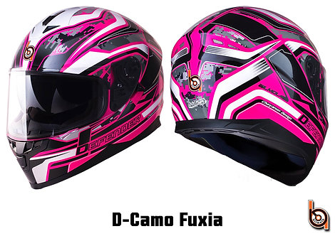 Bilmola Defender D-Camo Fuxia