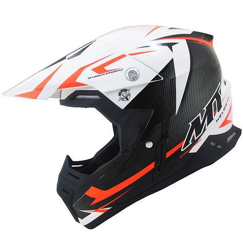 MT Synchrony Steel - Black - White - Orange