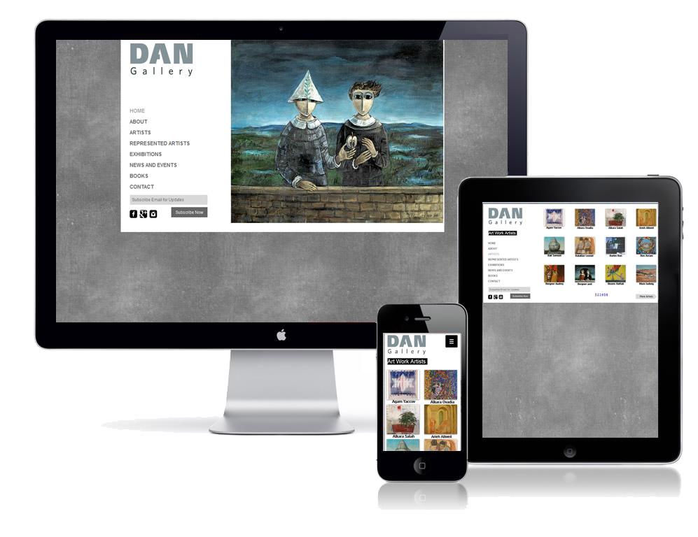 Dan Gallery |גלריה דן תל אביב
