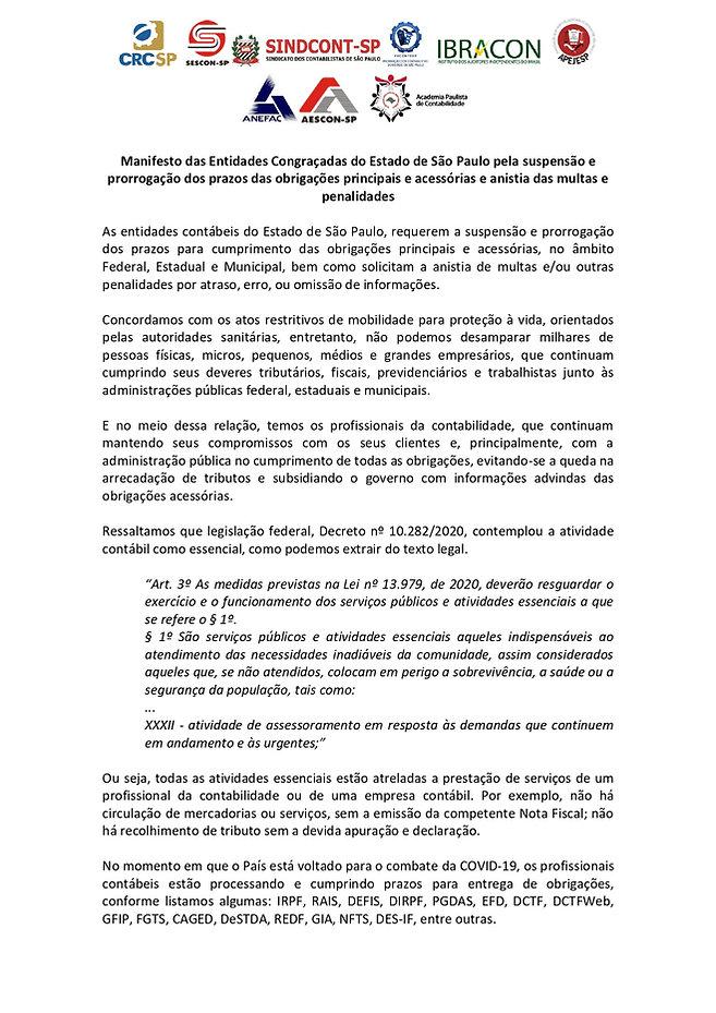 15.03.21 - Minuta Manifesto - Entidades