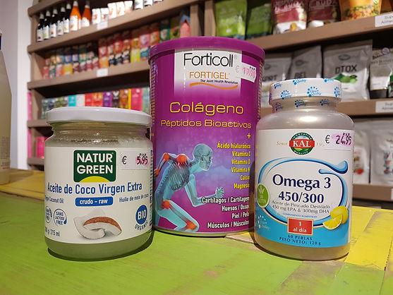 Aceite de Coco Virgen crudo bio - Omega 3 - Colágeno