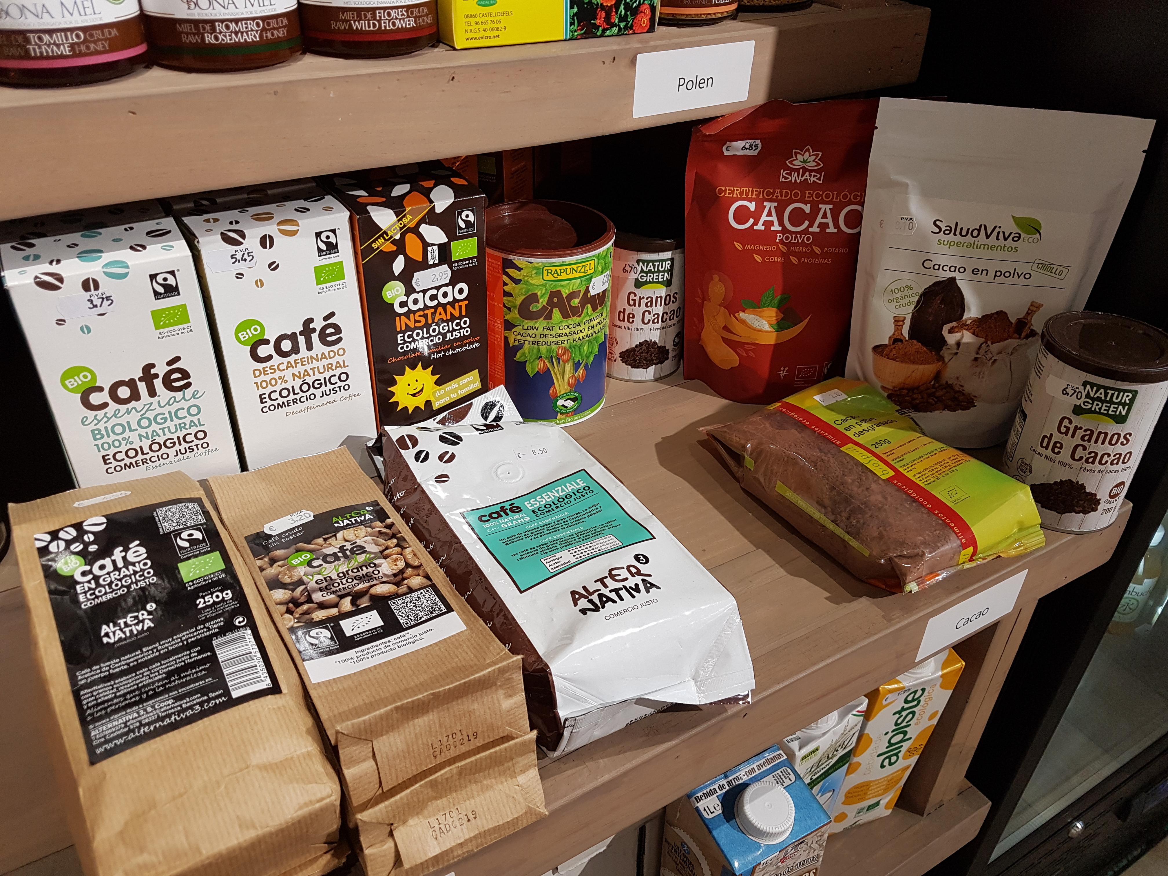 Cafe y cacao bio