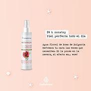 Agua floral rosa bulgaria esential aroms