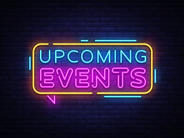 Upcoming-Events-Neon-Text-Vector.-Neon-sign-design-template-modern-trend-design-night-neon