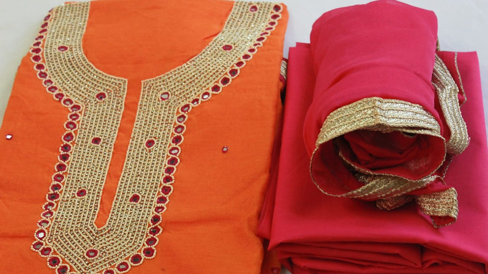 Chanderi Silk Party Wear