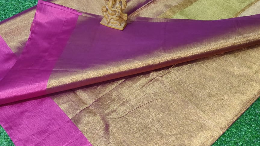 Double Shade Tissue Saree