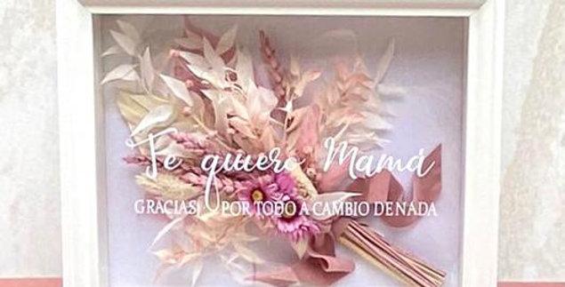 CUADRO RAMO FLORES PRESERVADAS ANAÏS