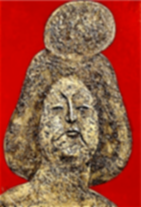 Tang Dynasty Girl, Mixed Media Relief, 3