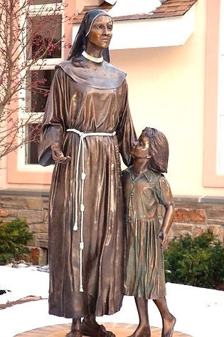 Sister Micarelli, Bronze, 6', 2011 Franc