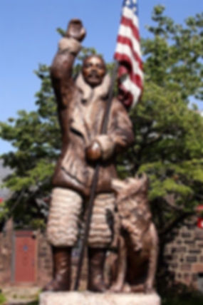 Matthew Henson Cold Cast Bronze 13'6_ Ca