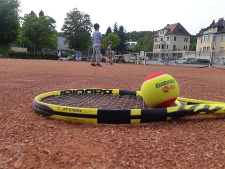 Am 1.5. dürfen wir endlich die Tennissaison eröffnen!