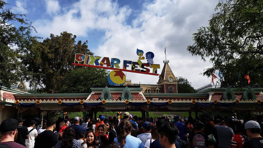 Pixar Fest (Disneyland Entrance)