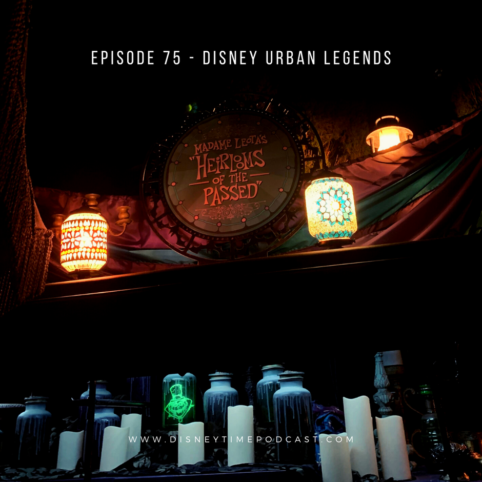 Episode 75 - Disney Urban Legends