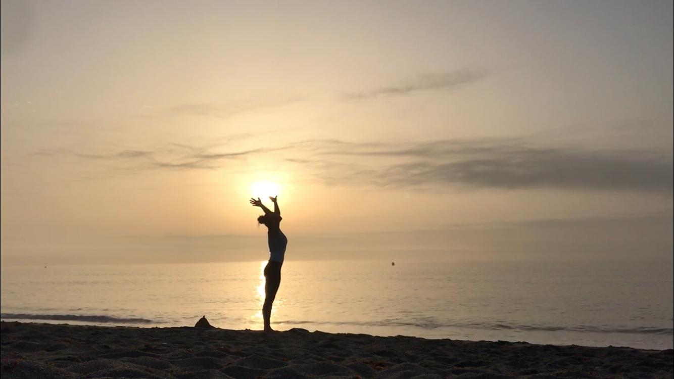 Yoga Sonnengruß-Quickie