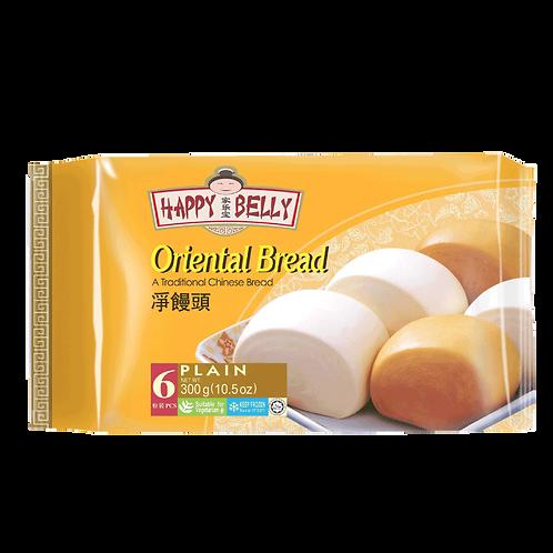 Oriental Bread (Mantou) Plain 6 pcs