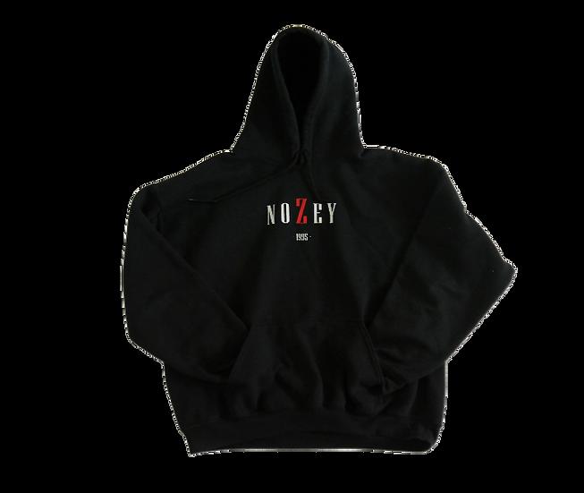 NOZEY BLACK SMALL hoodie