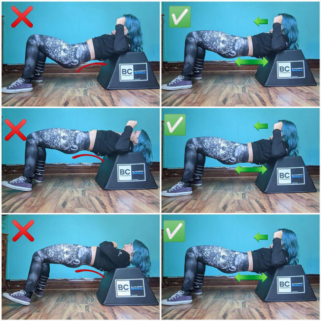 Hip Thrust Alignment