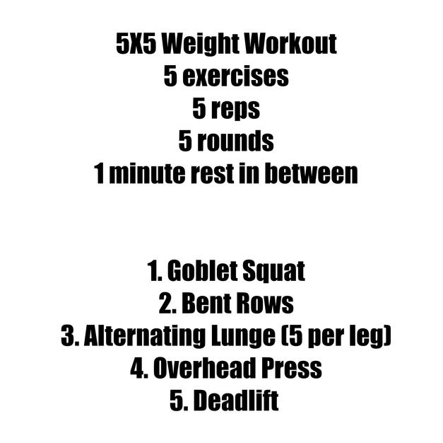 5x5 Weighted