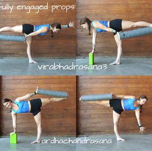 Engaged Balance Poses