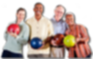 Seniors Citizens Monday luncheon bowling league