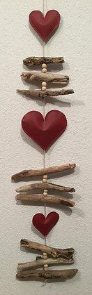 Fensterkette Herz