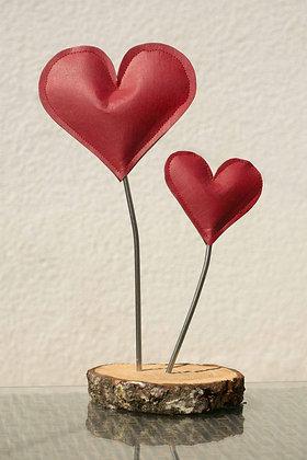 Deko-Herzen rot