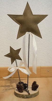D20 Deko-Sterne