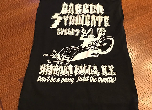 Men's Tank Bagger Syndicate Logo