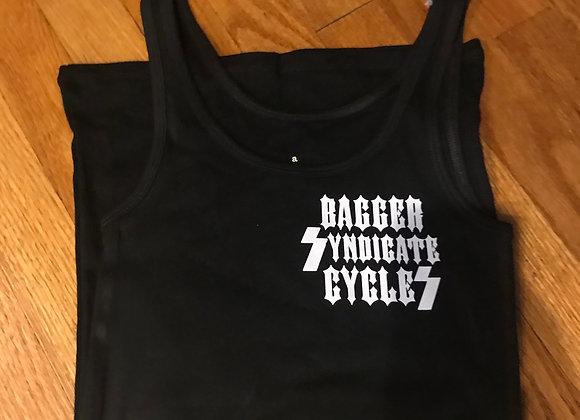 Women's Tank Bagger Syndicate Logo