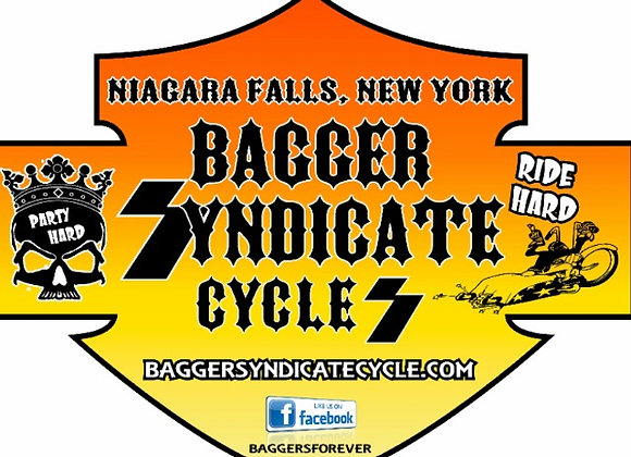 Bagger Syndicate Stickers - 3 for $5.00