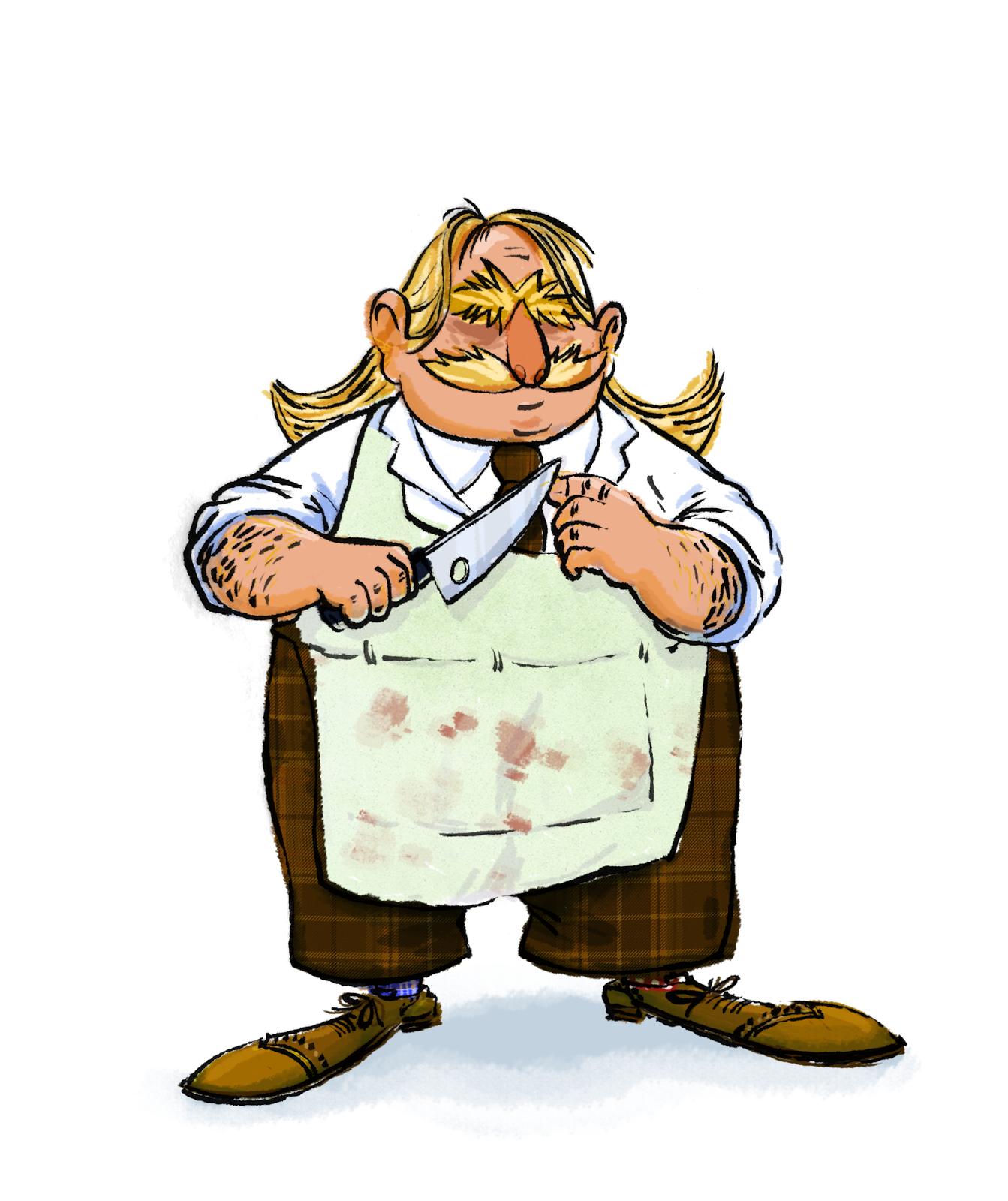 Hervé le boucher