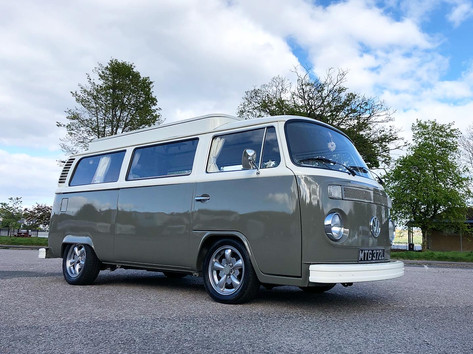 Mitzy our beloved bay window VW T2
