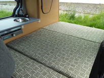 6ft custom made rock and roll bed