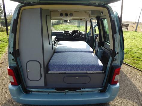 Rear of micro camper