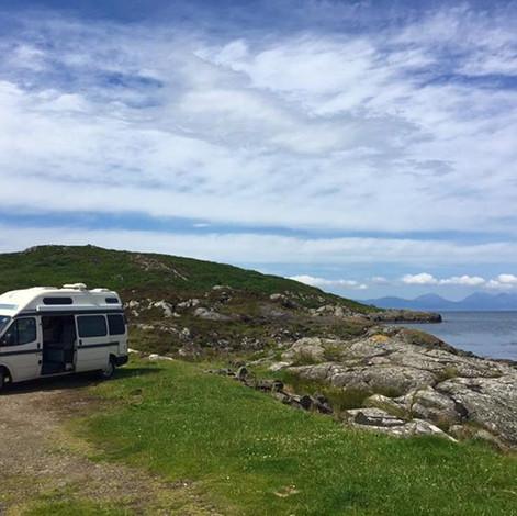 Camping spot, Isle of Gigha