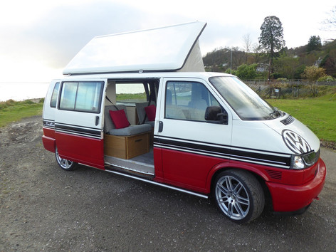 T4 conversion with pop top roof