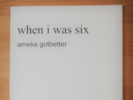 "Editor's Spotlight - Amelia Gotbetter ""home"" (and NEW BOOK!)"
