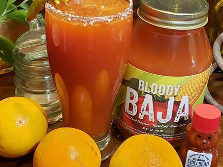Sweet and Spicy Baja Michelada