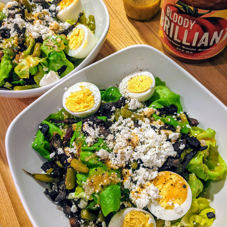 BPP House Salad with Brilliant Vinaigrette