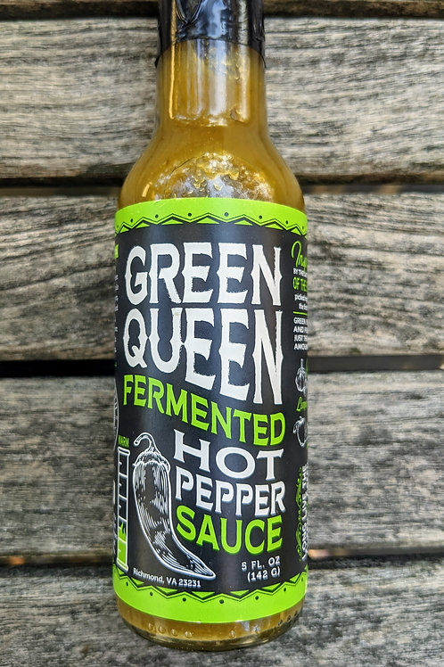 Green Queen Hot Sauce