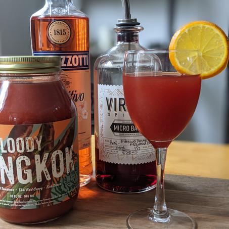 Bloody Bangkok with Virago Kali Gin and Ramazzotti Aperitivo Rosato