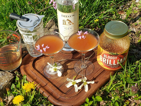 Mother's Day Redbud Martini
