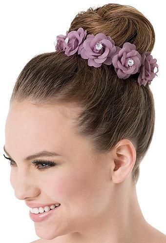 Floral Bun Crown